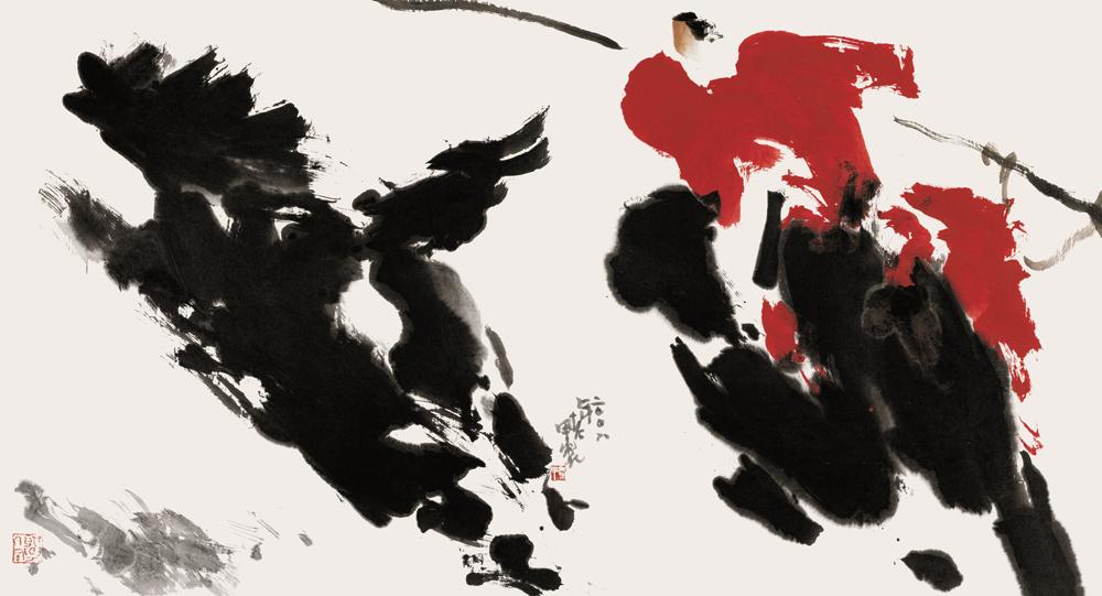 抓马-北京画院收藏